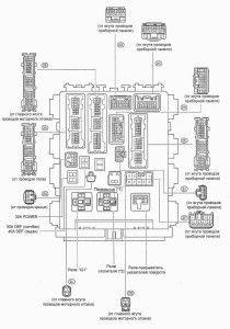 Corolla-Blok-pod-panel-pered