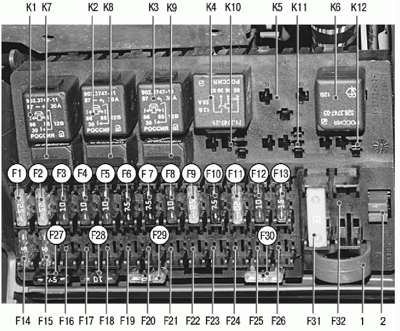 электронная схема бензонасоса нива 2121