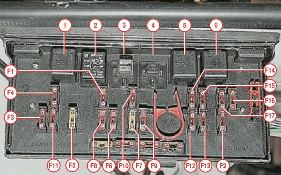 Схема стоп-сигналов ваз 2107