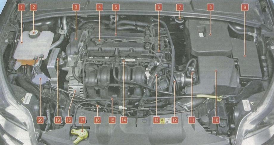 Форд фокус 3 реле схема
