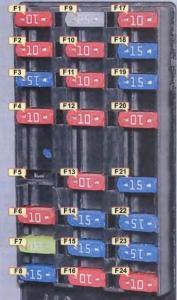 Блок предохранителей на Шевроле-Лачетти