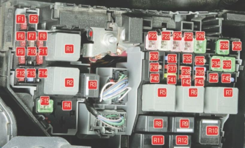 Предохранитель Омывательного Бачка Ford Mondeo 3