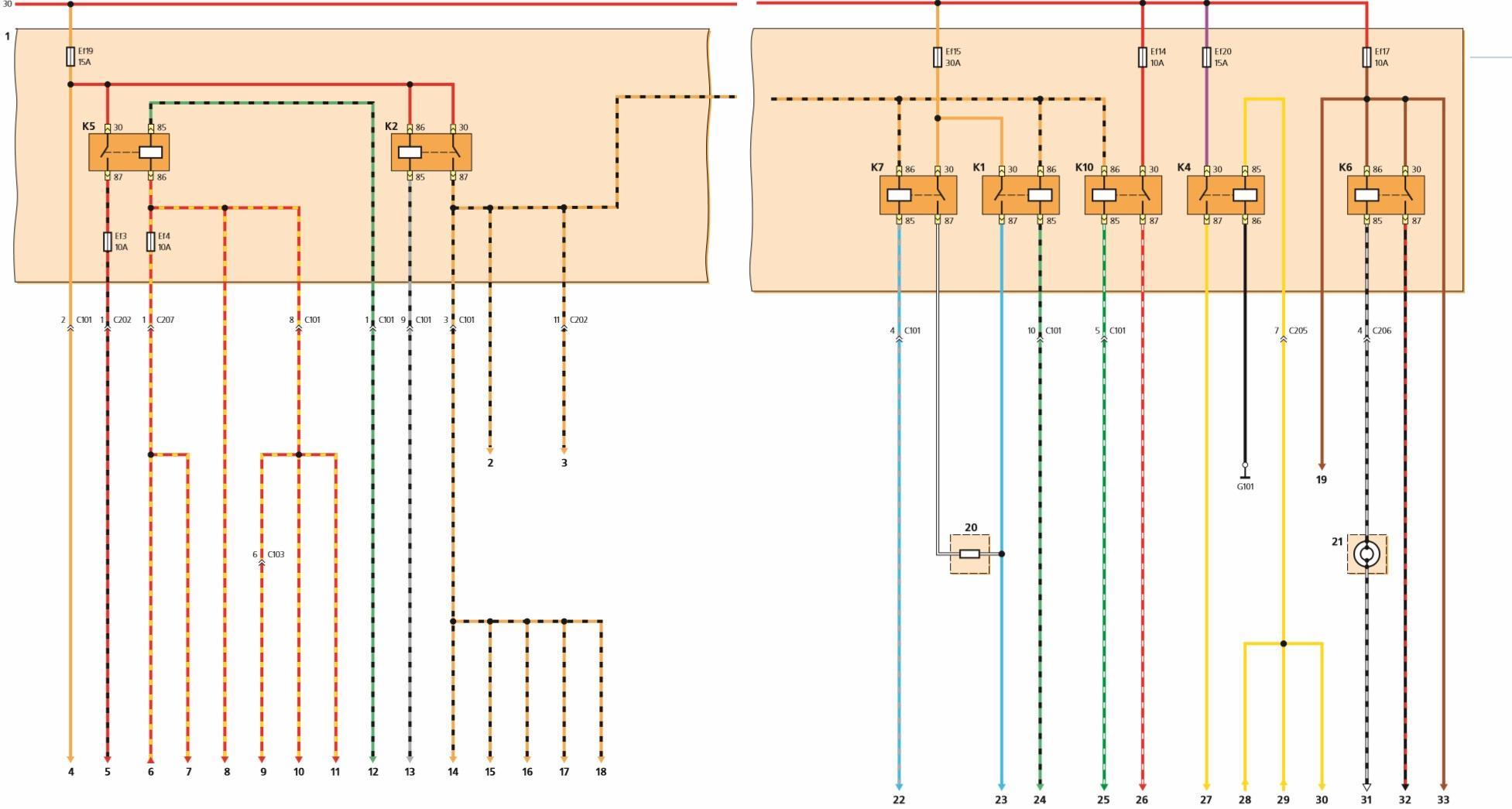 Схема отопителе матиз