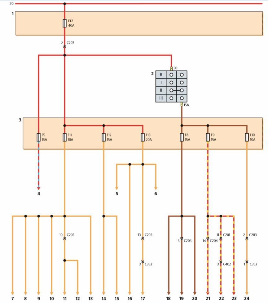 дэу матиз радиатор отопителя схема