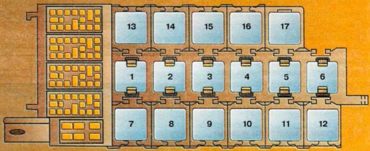audi a6 45 кузов 1996г 2.5 турбодизель где находится предохранитель климатконтроля