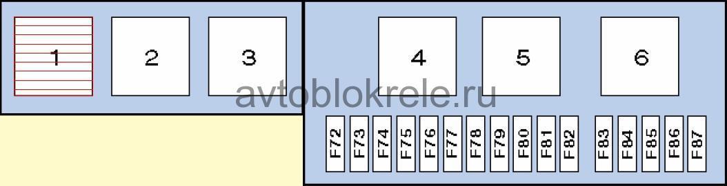 Схема реле бмв х5 е53