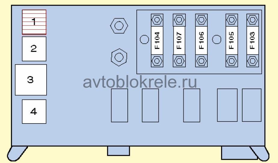 Изображение плавкого предохранителя на схемах5