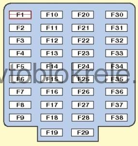 схема реле volvo s60 2006