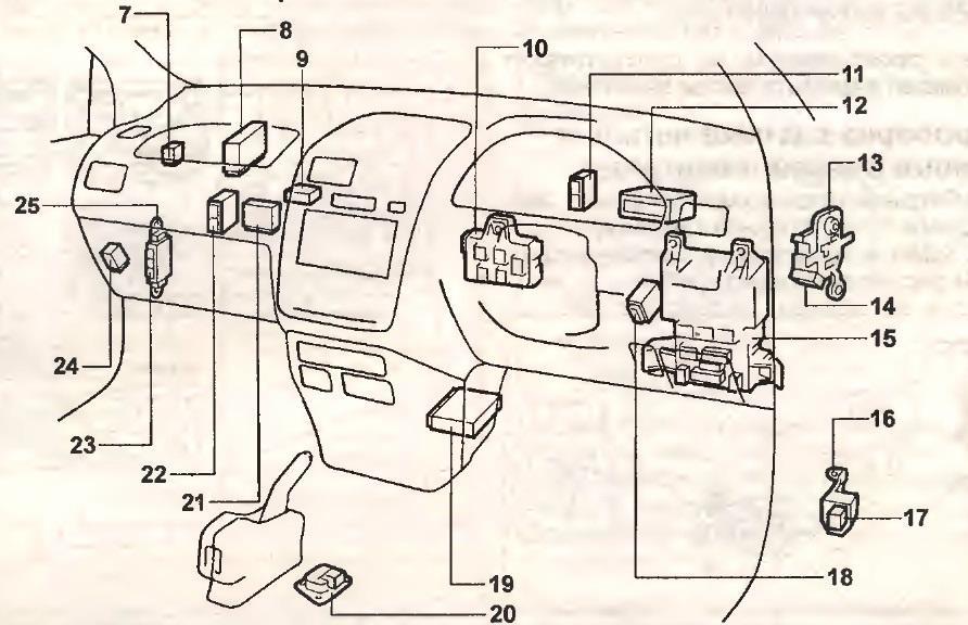 схема тормозной системы toyota ipsum