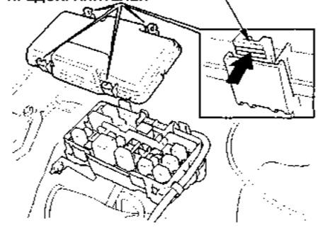 маркировка реле муфты компрессора в honda cr-v
