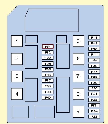 Ниссан микра схема предохранителей 714