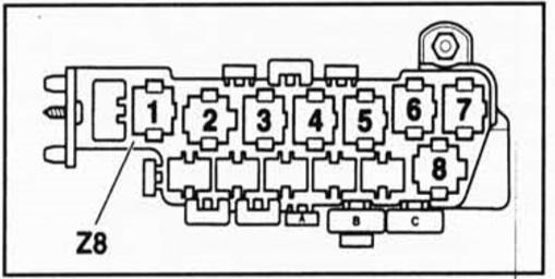 горит предохранитель противотуманных фар фольксваген пассат б5