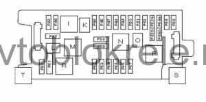 Mercedes-w211-blok-kapot